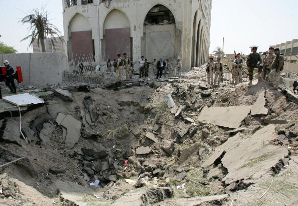 Green Zone - Baghdad「Many Dead As Central Baghdad Hit By Truck Bombs」:写真・画像(13)[壁紙.com]