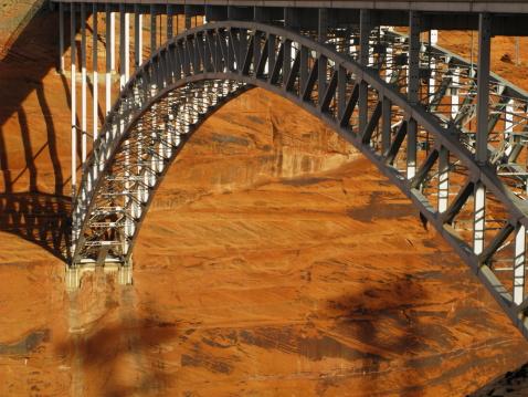 Glen Canyon National Recreation Area「Arch Bridge Glen Canyon Dam」:スマホ壁紙(17)