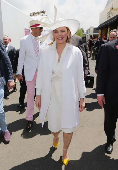Crown Oaks Day「Celebrities Attend Crown Oaks Day」:写真・画像(10)[壁紙.com]