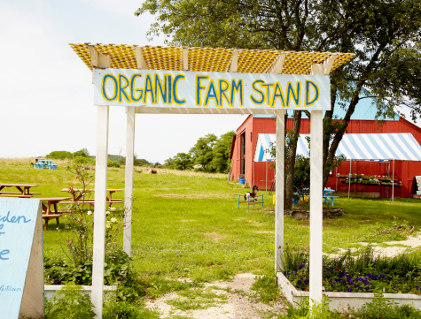 Homegrown Produce「Handmade sign at organic farm stand」:スマホ壁紙(8)