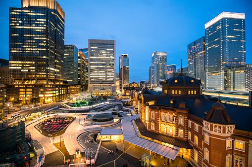 Marunouchi「Tokyo station view」:スマホ壁紙(10)