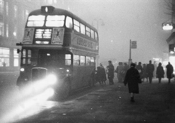 Bus「Bus In Fog」:写真・画像(13)[壁紙.com]