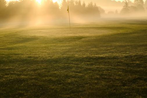 Sports Flag「Hole on green at golf course」:スマホ壁紙(19)