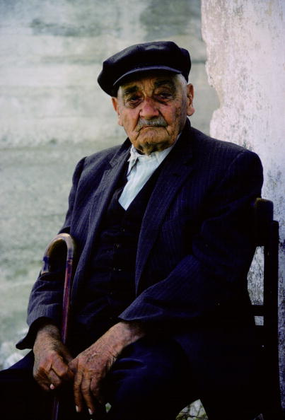 Relaxation「Old Man, Corfu, Greek Islands」:写真・画像(16)[壁紙.com]