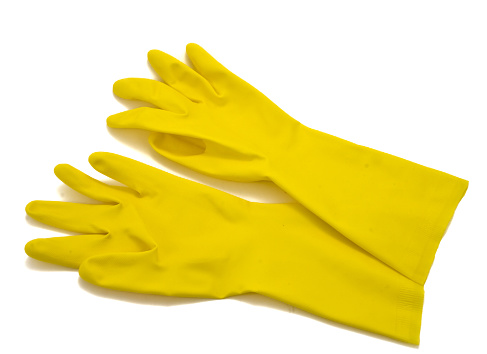Protective Glove「Yellow rubber gloves」:スマホ壁紙(1)