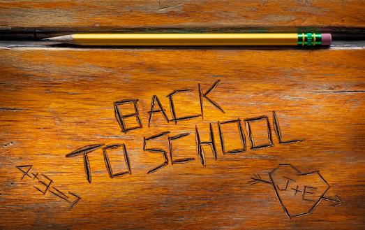 文字「学校に戻る」:スマホ壁紙(17)