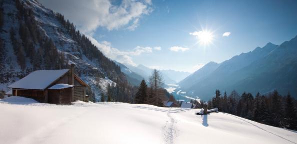 Lech Valley「alpine hut in tirol, austria」:スマホ壁紙(16)