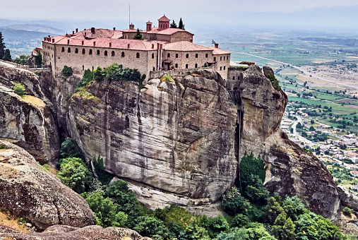 World Heritage「The Agios Stefanos nuns monastery in the Meteora site.」:スマホ壁紙(10)