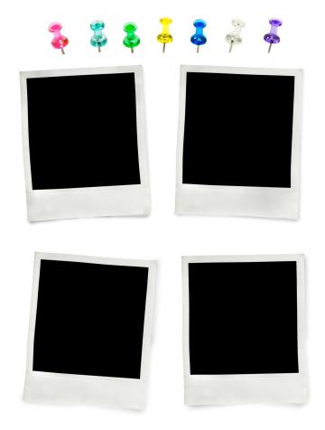 Instant Camera「push pins and Polaroid」:スマホ壁紙(19)