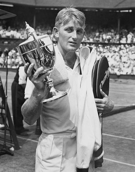 Lew Hoad「Wimbledon Lawn Tennis Championships」:写真・画像(16)[壁紙.com]