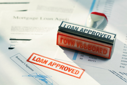 """Loan「""""LOAN APPROVED"""" Approval Red Rubber Stamp Approving Mortgage Application Document」:スマホ壁紙(17)"""