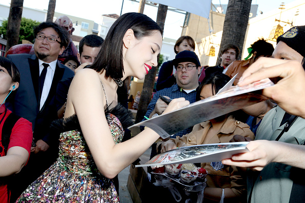 """Kiko Mizuhara「""""ATTACK ON TITAN"""" World Premiere」:写真・画像(9)[壁紙.com]"""