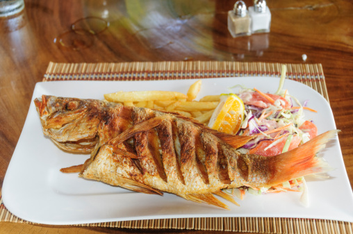 Central America「Whole fried red snapper」:スマホ壁紙(12)