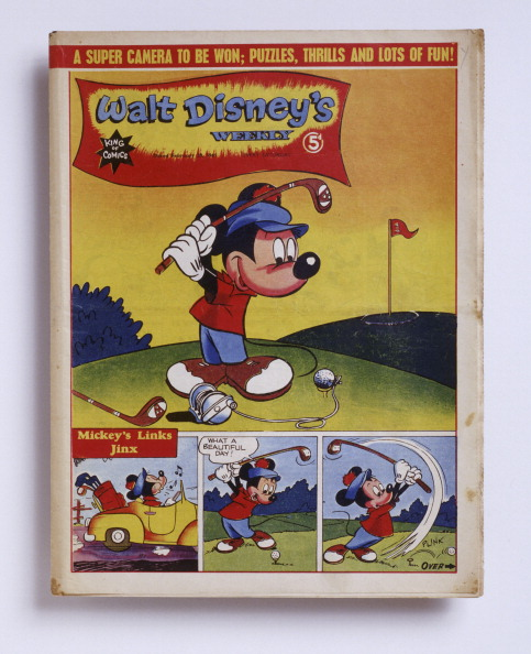 ミッキーマウス「Walt Disney's weekly, American, February 20, 1945.」:写真・画像(7)[壁紙.com]