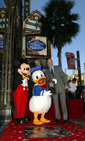 ミッキーマウス「The Hollywood Walk of Fame Honors Donald Duck」:写真・画像(12)[壁紙.com]