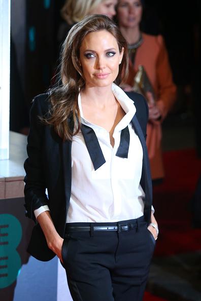 アンジェリーナ・ジョリー「EE British Academy Film Awards 2014 - Red Carpet Arrivals」:写真・画像(17)[壁紙.com]