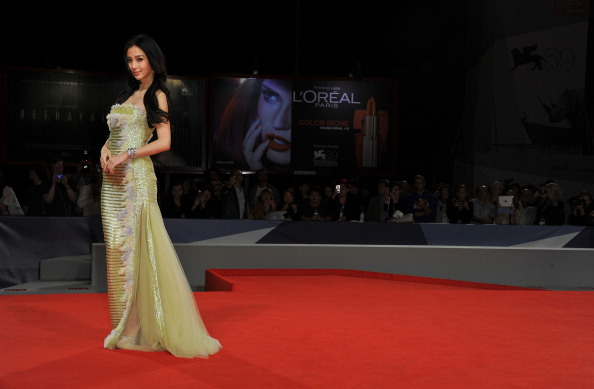 "Angelababy「""Tai Chi O"" Premiere - The 69th Venice Film Festival」:写真・画像(10)[壁紙.com]"