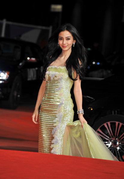 "Angelababy「""Tai Chi O"" Premiere - The 69th Venice Film Festival」:写真・画像(7)[壁紙.com]"