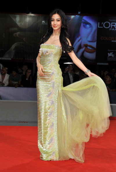 "Angelababy「""Tai Chi O"" Premiere - The 69th Venice Film Festival」:写真・画像(14)[壁紙.com]"