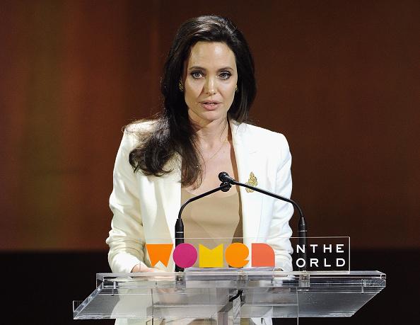 アンジェリーナ・ジョリー「Women In The World Summit Held In New York」:写真・画像(14)[壁紙.com]