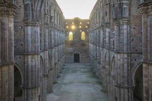 Abbey - Monastery「San Galgano Abbey」:スマホ壁紙(4)
