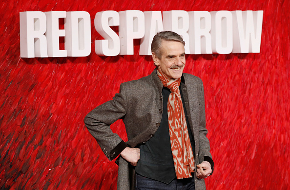 Jeremy Irons「'Red Sparrow' European Premiere - Red Carpet Arrivals」:写真・画像(10)[壁紙.com]