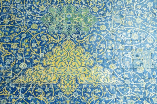 Iranian Culture「The wall of the mosque, Iran, Close Up」:スマホ壁紙(8)