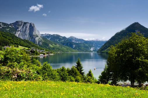 Salzkammergut「Lake Grundlsee」:スマホ壁紙(10)