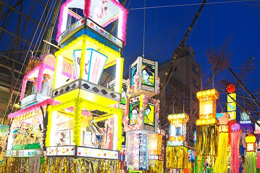 七夕「Tanabata festival」:スマホ壁紙(10)