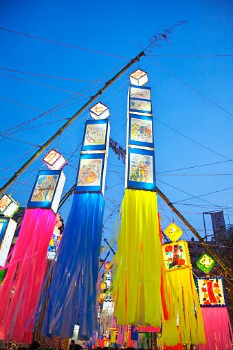 七夕「Tanabata festival」:スマホ壁紙(12)