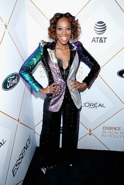 Multi Colored「2018 Essence Black Women In Hollywood Oscars Luncheon - Red Carpet」:写真・画像(13)[壁紙.com]