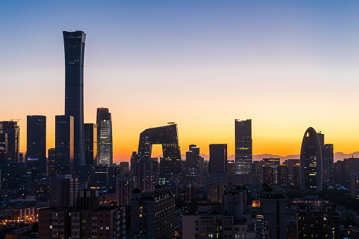 Beijing「City skyline night view」:スマホ壁紙(19)
