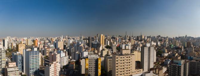 Conformity「City skyline with skyscrapers」:スマホ壁紙(16)
