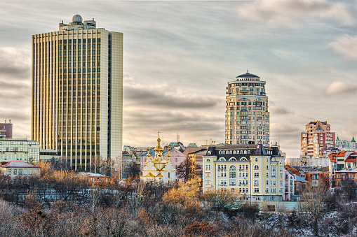 Ukraine「City skyline, Kiev, Ukraine」:スマホ壁紙(10)