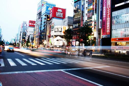 Japan「City skyline,shinjuku」:スマホ壁紙(5)