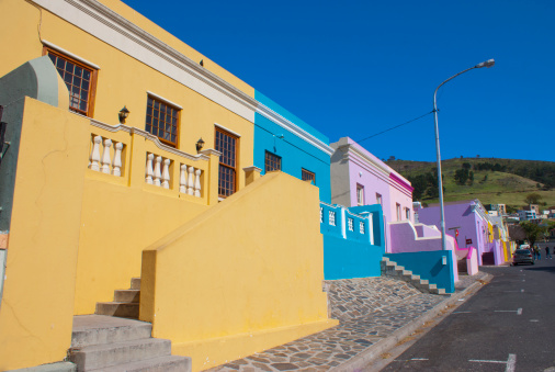 Malay Quarter「Houses in Bo Kaap, Cape Town.」:スマホ壁紙(8)