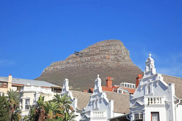 Houses in Bo-Kaap beneath Signal Hill, Cape Town.:スマホ壁紙(壁紙.com)