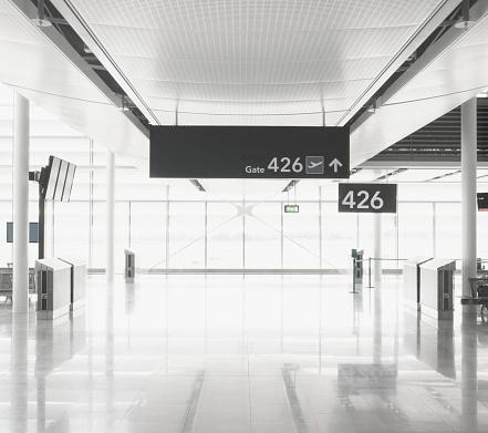 Directional Sign「Airport terminal」:スマホ壁紙(7)