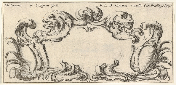 Blank「Plate 10: A Cartouche With The Heads Of Two Lions In Profile To Left And Right In T」:写真・画像(3)[壁紙.com]