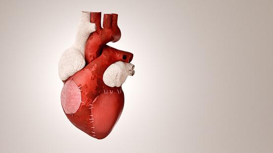 Fitness model「Patched heart」:スマホ壁紙(12)