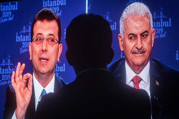 Istanbul「Istanbul's Mayoral Candidates Debate Ahead of New Election」:写真・画像(14)[壁紙.com]