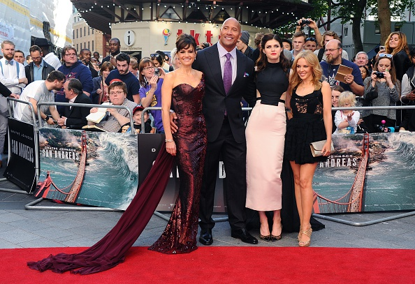 "Pale Pink「""San Andreas"" - UK Premiere - Red Carpet Arrivals」:写真・画像(0)[壁紙.com]"