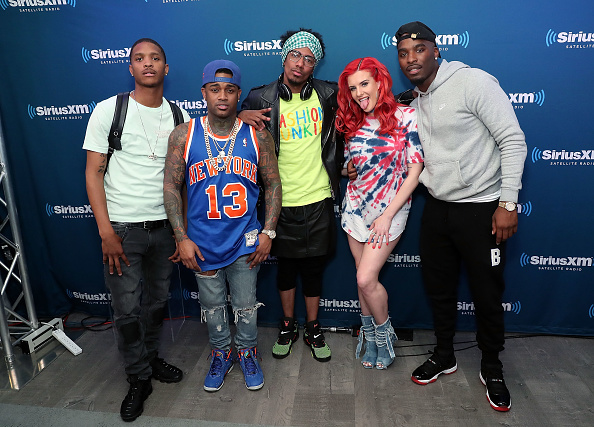 バレンタイン「Nick Cannon & Ncredible Gang Perform On SiriusXM's Hip Hop Nation」:写真・画像(1)[壁紙.com]
