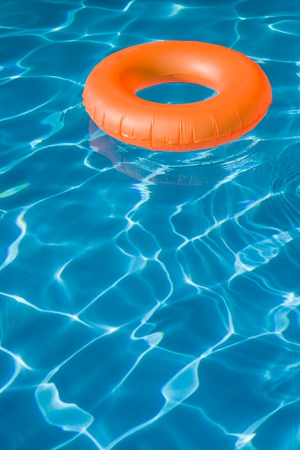 プール「ゴムリングのプール」:スマホ壁紙(10)