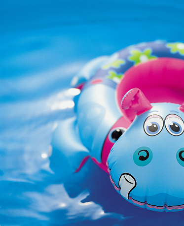 Hippopotamus「Inflatable pool toy」:スマホ壁紙(2)