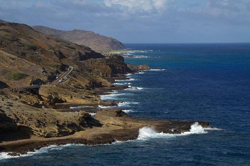 オアフ島「Coast Road at the base of Koko Head」:スマホ壁紙(10)