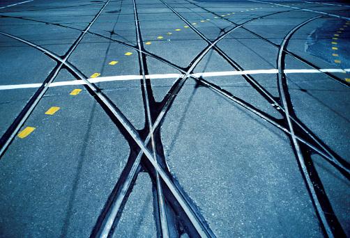Decisions「Streetcar rails, Toronto, Canada」:スマホ壁紙(1)