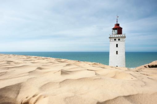 Jutland「Denmark, Jutland, Rubjerg Knude Lighthouse」:スマホ壁紙(19)