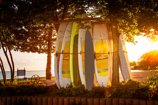 Great Lakes「Paddle Boards on Lake Erie」:スマホ壁紙(13)