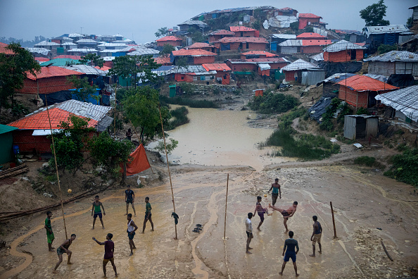 Displaced Persons Camp「Rohingya Refugees Mark One Year Since The Crisis」:写真・画像(12)[壁紙.com]